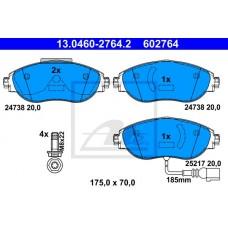 FREN BALATA ÖN 340MM DİSKLER İÇİN PASSAT 11- SHARAN 11- GOLF7 13- A3 13-