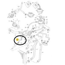 Flanş Termostat Gövdeden Yağ soğutucusuna Otomatik 1,6 AEE 1,4 AFH Polo Hb 95-00