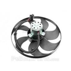 Fan Motor Büyük 345mm 250/60w Oval Soket Golf4 Bora